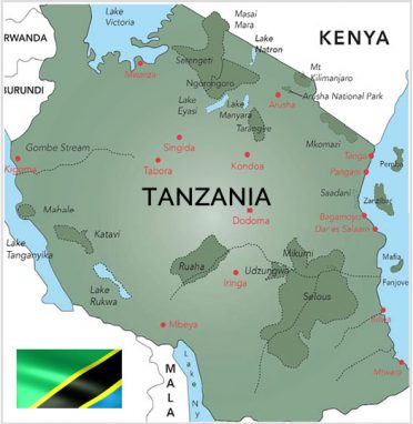 Tanzania Map1