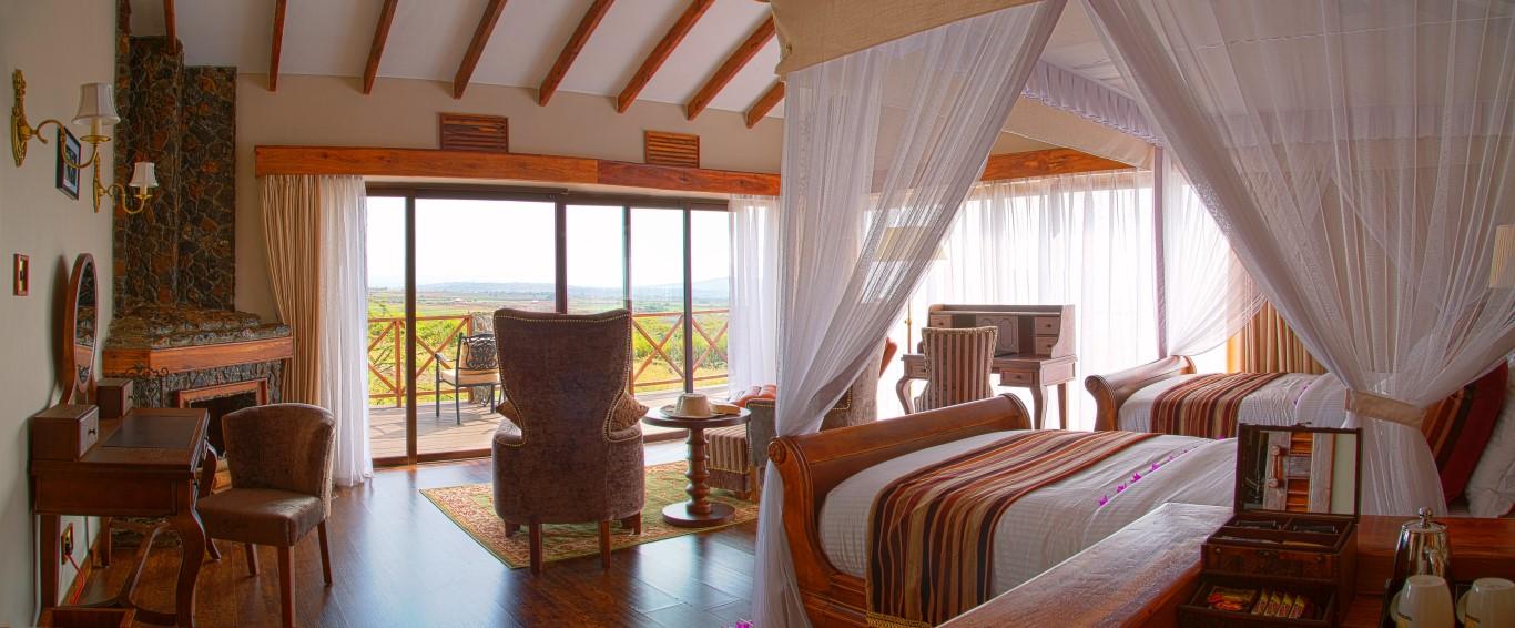 Oldeani Ngorongoro Mountain Lodge Leopard Tours Tanzania
